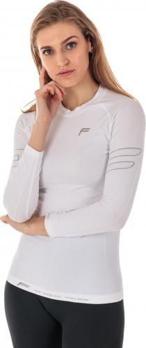 Fuse Koszulka damska Allseason Megalight 200 długi rękaw biała r. S
