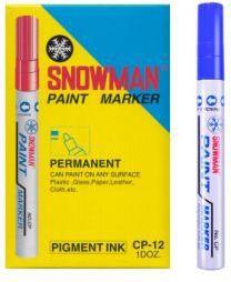 TIERRA Pisak olejowy gruby Snowman niebieski - WIKR-975246