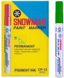 TIERRA Pisak olejowy gruby Snowman zielony - WIKR-975247