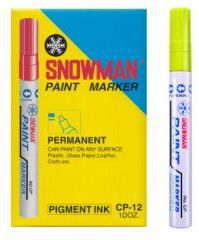 TIERRA Pisak olejowy gruby Snowman żółty - WIKR-975248