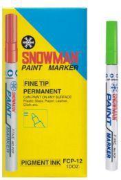 TIERRA Pisak olejowy średni Snowman zielony - WIKR-975239