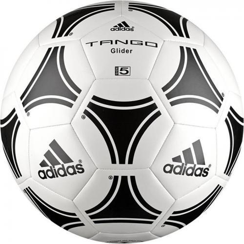Adidas Tango Glider #4 S12241 Piłka Nożna biało-czarna (01614)
