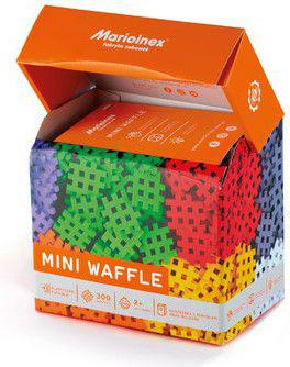 Marioinex Klocki Waffle mini 300 szt. w pudełku