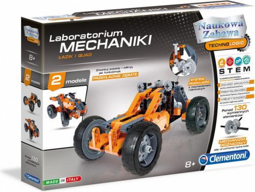 Clementoni Laboratorium Łazik i quad (60954)