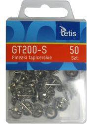 TETIS Pinezki tapicerskie GT200-S, 50 szt. (WIKR-0999377)