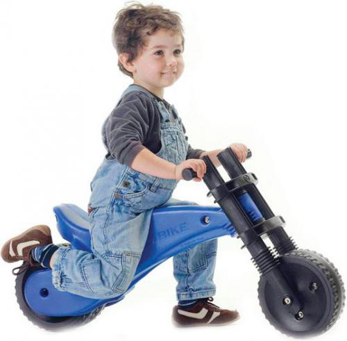YBIKE Rowerek biegowy Y Bike Oryginal niebieski