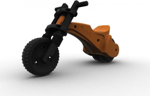 YBIKE Rowerek biegowy Y Bike Oryginal pomarańczowy