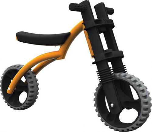 YBIKE Rowerek biegowy Y Bike Extreme pomarańczowy