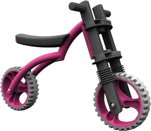 YBIKE Rowerek biegowy Y Bike Extreme różowy