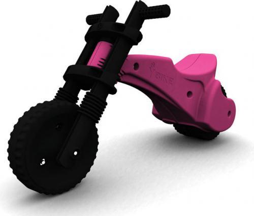YBIKE Rowerek biegowy różowy