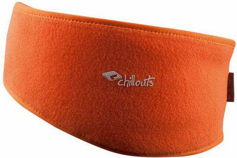CHILLOUTS Opaska Freeze Fleece Headband FHB07 pomarańczowa (CHI-3855)