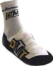DMT Skarpety na buty DMT SHOECOVERS czarno-białe r. 43-45