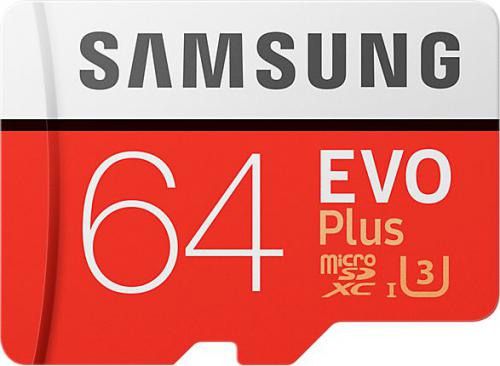 Karta MicroSD Samsung EVO + (MB-MC64GA/EU)