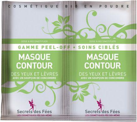 Secrets des Fees Maseczka algowa poprawiająca kontur oczu i ust 16g