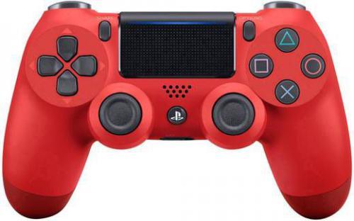 Gamepad Sony SONY DualShock 4 v2 Czerwony (9814153)