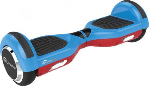 "Deskorolka elektryczna Skymaster WHEELS 6,5"" Dual System blue-red"