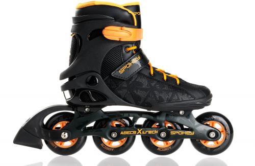 Spokey Rolki fitness Xtrec Black/Orange r. 40