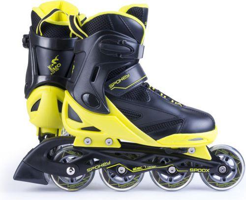 Spokey Rolki regulowane Spoox czarno-żółty r. 40-43