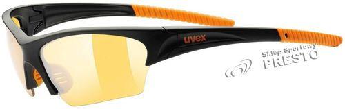 UVEX Okulary Sunsation kolor czarno-pomarańczowy, roz. uniwersalny (53606 - 53606UNI)