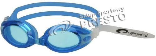 Spokey Okulary pływackie Tide niebieski 2 roz. uniw (84049)