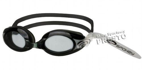 Spokey Okulary pływackie Tide 84047 czarny roz. uniw (84047)
