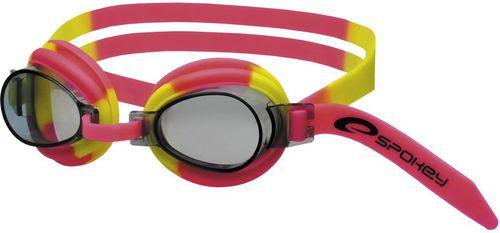 Spokey Okulary pływackie dla dzieci Jellyfish czerwono-żółte