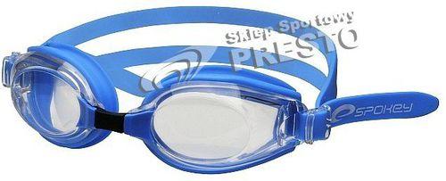 Spokey Okularki pływackie Barracuda Spokey niebieski roz. uniw (84029)