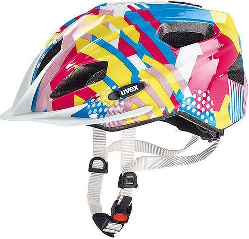 UVEX Kask rowerowy dziecięcy Quatro Junior Uvex Candy roz. 50-55 (S4142571615)