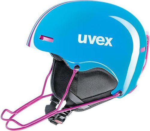 UVEX Kask damski HLMT 5 Race Cyan Pink r. 59-62 (56614940)