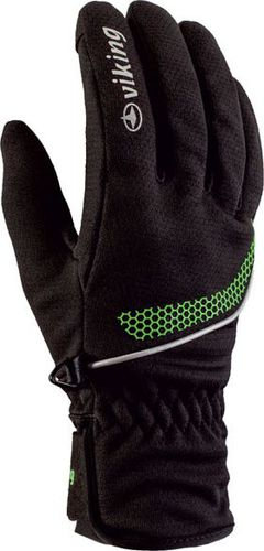 Viking Rękawice Shiro czarno-zielone r. 8 (14011308)