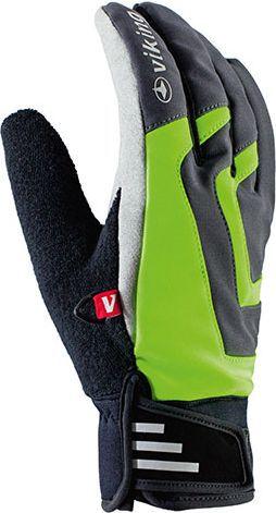 Viking Rękawice Alesund czarno-zielone r. 8 (14045008)
