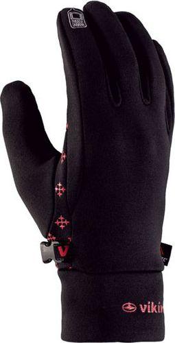 Viking Rękawice Oslo czarno-czerwone r. 9 (14085359)