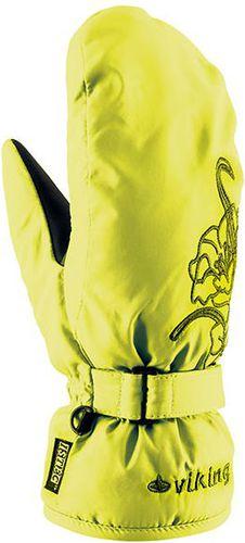 Viking Rękawice damskie Mallow Mitten żółte r. 6 (113/10/3100)