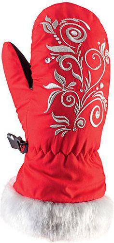 Viking Rękawiczki dziecięce Natty mitten czerwone r. 5 (125/18/0140/34)