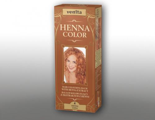 Venita Ziołowe Balsamy Henna Color 4 Chna 75ml