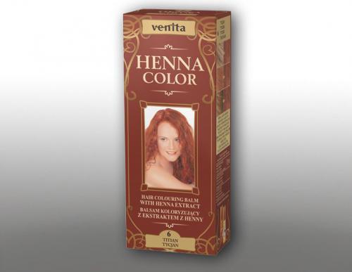 Venita Ziołowe Balsamy Henna Color 6 Tycjan 75ml