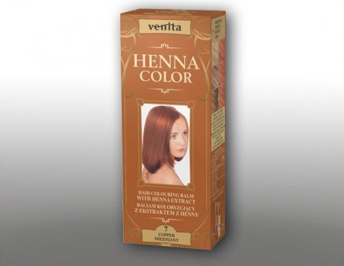 Venita Ziołowe Balsamy Henna Color 7 Miedziany 75ml
