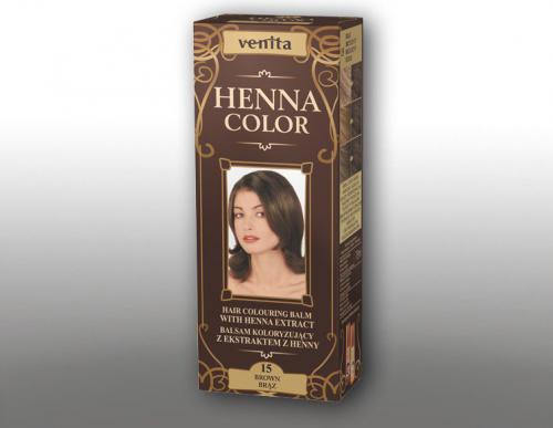 Venita Ziołowe Balsamy Henna Color 15 Brąz 75ml
