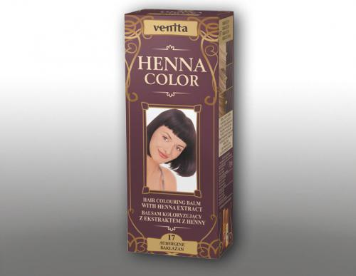 Venita Ziołowe Balsamy Henna Color  17 Bakłażan 75ml