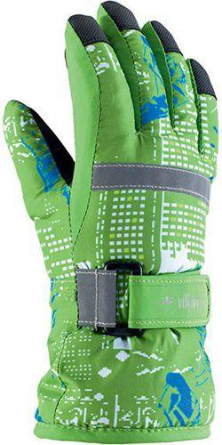Viking Rękawiczki dziecięce Gamer zielone r. 3 (120/18/5057/72)