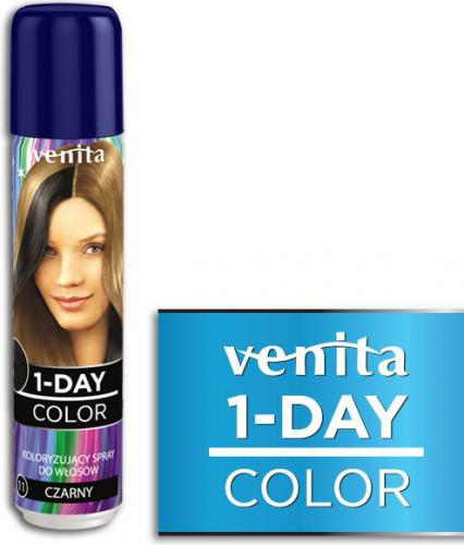Venita 1-Day color spray 11 czarny