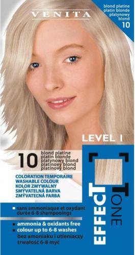Venita Szamponetka EFFECT TONE 2x25 ml 10 platynowy blond