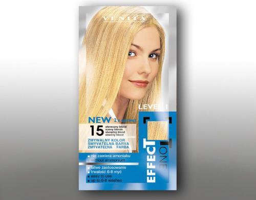 Venita Szamponetka EFFECT TONE 2x25 ml 15 Słoneczny blond
