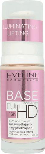 Eveline Base Full HD Baza pod makijaż wygładzająco-rozświetlająca 30ml