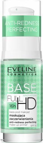 Eveline Base Full HD Baza pod makijaż maskująca zaczerwienienia 30ml