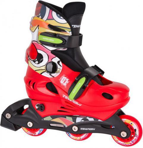 TEMPISH Rolki Baby Skate '17 czerwono-czarne r. 30-33 (1000000005-MNSS)