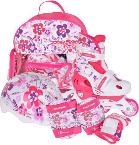 TEMPISH Rolki regulowane Baby Skate '17 różowe r. 34-37 (1000000007-FLOM)