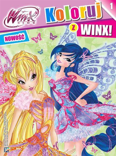 Wilga WINX. Koloruj z WINX 1 - 224228