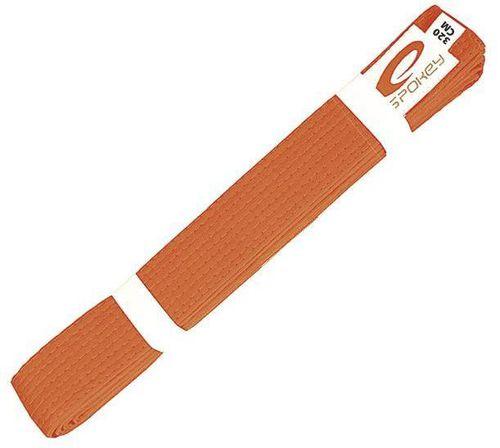 Spokey Pas do kimona Fugato pomarańczowy 320cm (85146)