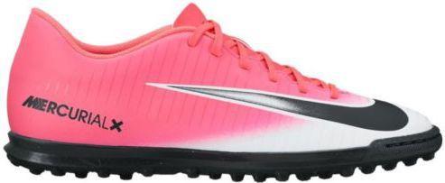 Nike Buty piłkarskie MERCURIAL X VORTEX III TF różowe r. 46 (831971 601)